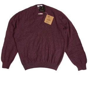 YSL Mens Dufour Knitwear Cashmere Blend Sweatshirt
